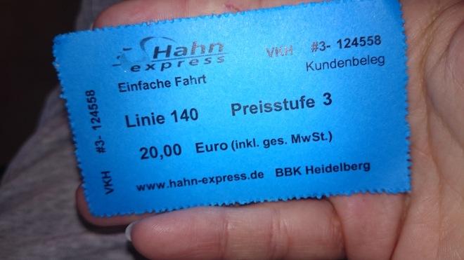 shuttle-ticket Sind eigentlich nur wir Deutschen so?