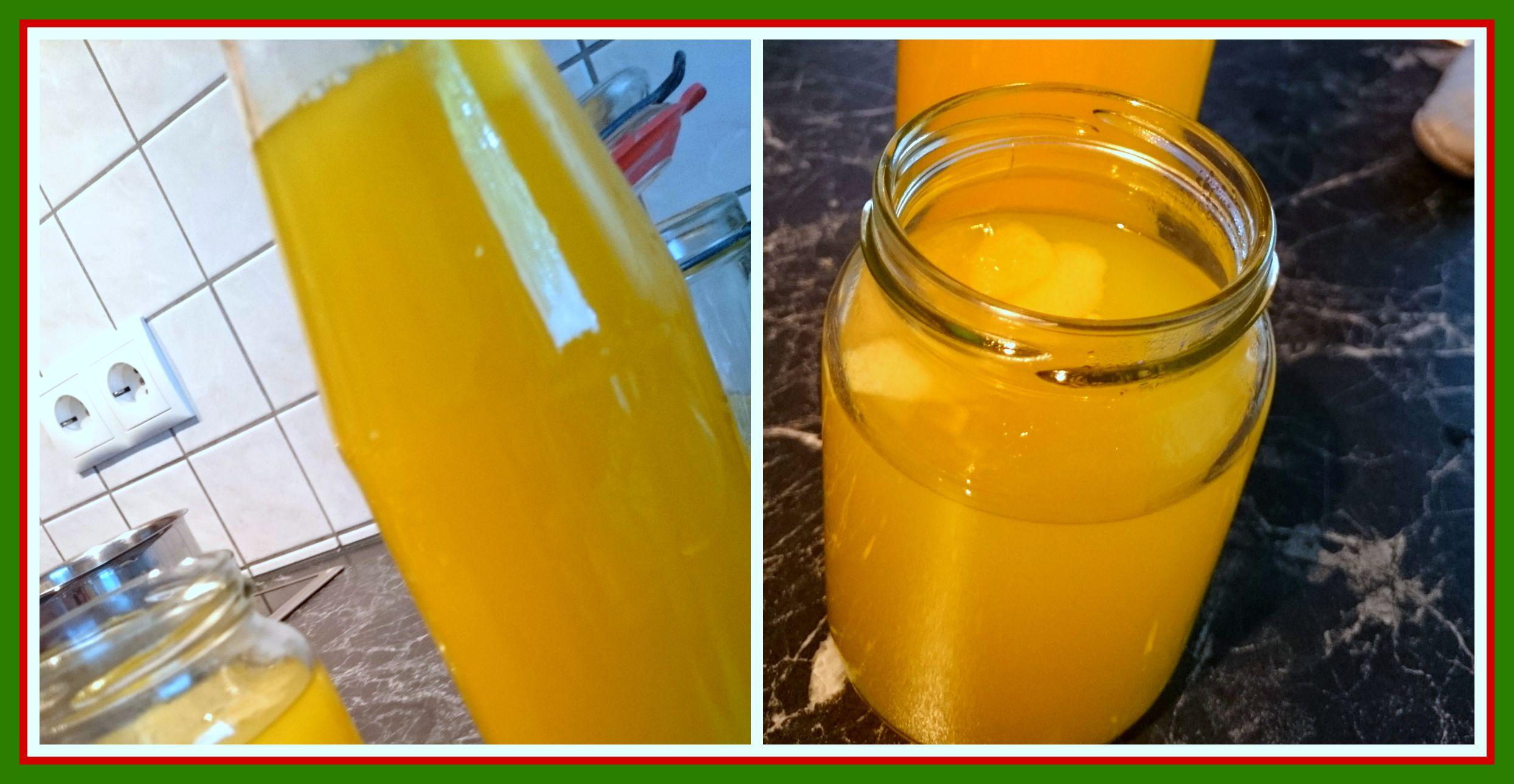 Italien und ich limoncello in wenigen schritten selber - Alkohol tinte selber machen ...