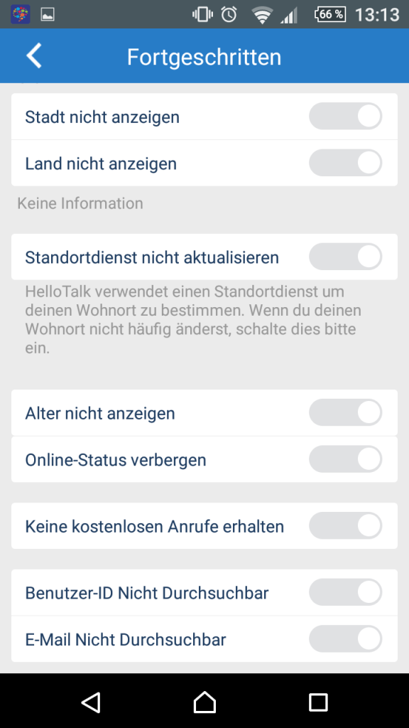 "12-hello-talk-datenschutz-advanced ""Talk To The World"" - Sprich mit der Welt"