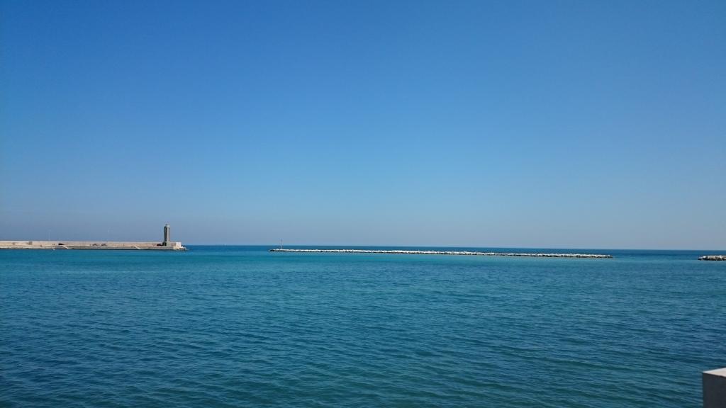 das-meer-bei-bari-il-mare-di-bari Unser Meer